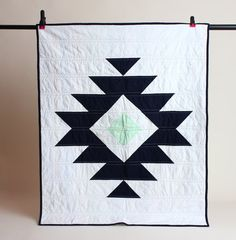 Aztec Baby Quilt by theblanketthief. Explore more products on http://theblanketthief.etsy.com