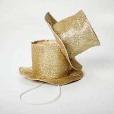 Gold Magicians Hat | mouche