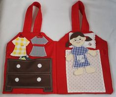 Nap Time Crafters: Felt Paper Dolls