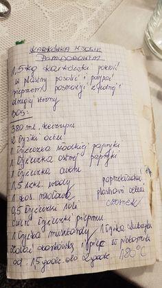 Old Recipes, Meat Recipes, Mexican Food Recipes, Cooking Recipes, Healthy Recipes, B Food, Food Porn, Fast Dinners, Polish Recipes