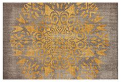 8x10 Nika Rug, Gray/Gold on OneKingsLane.com