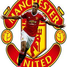 Anthony Martial Box Effect Large United Crest