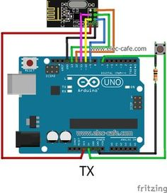 Simple short sketch; example of communication between two nRF24L01 modules connected to two Arduino UNOs