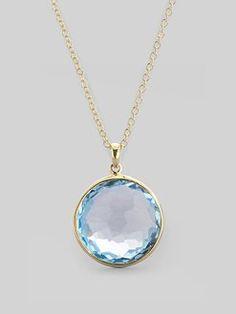 Ippolita blue quartz