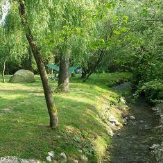 kleine camping in Slovenië in de natuur; bron Mijn Slovenië