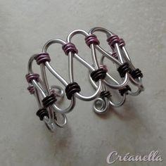 Bracelet fil alu