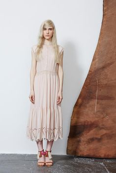 Ulla Johnson Spring 2015 Ready-to-Wear - Collection - Gallery - Look 1 - Style.com