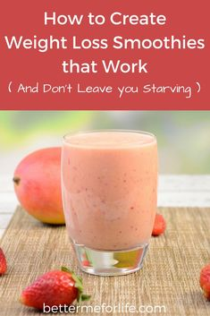 Some smoothies may be working against your health goals, making you GAIN weight. Get the FREE guide and start creating weight loss smoothies that work.