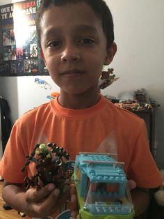 Andrew Durán su nuevo lego Mystery machine de Scooby Doo