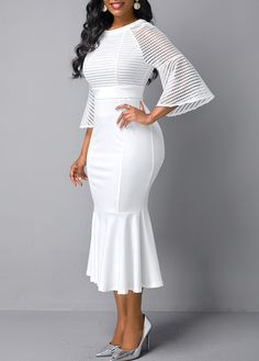 women dresses, tight dress ,casual dresses, women dress online store, Worldwide Delivery No Minimum Order! Church Dresses For Women, Dresses For Sale, Dress Outfits, Casual Dresses, Fashion Outfits, Midi Dresses, African Fashion Dresses, African Dress, White Outfits For Women