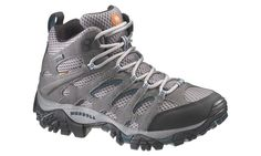 Get Free Delivery on Merrell Moab Mid Women's Boot Pewter/Blue Grass - Lowest Prices on Hiking & Travel Footwear at Australias Best Online Camping Store Gore Tex Hiking Boots, Mountain Designs, Merrell Shoes, Hiking Shoes, Your Shoes, Shoes Online, Fashion Boots, Backpacking, Footwear