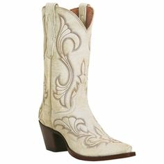 cowboy boots for men and cowgirl boots for women including Corral Boots, Tin Haul, Ariat and Justin Boots. Large selection of work boots. White Cowgirl Boots, Wedding Cowboy Boots, White Boots, Western Boots, Western Style, Western Wear, Cowgirl Style, Dan Post Boots, Bota Country
