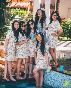 The Benarasi dream still lives on with Sabyasachi - fluid, earthy and charming. His style persona has always stuck to the same mold - maatha pattis, family portraits and old-school vintage glamour. Bachelorette Weekend, Bachelorette Parties, Bridesmaid Outfit, Vintage Glamour, Brides And Bridesmaids, Wedding Vendors, Your Girl, Wedding Season, Summer Collection