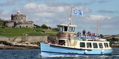 St Mawes Ferry linking Falmouth & St Mawes - Boat Trip in Cornwall :: Fal River