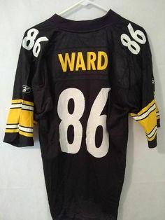 a4da53829 VTG Hines Ward Pittsburgh Steelers jersey size M Reebok black