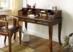 "Sekretär ""Cube"" Palisander massiv Holz Möbel Shrank Schreibtisch kaufen bei Hood.de"