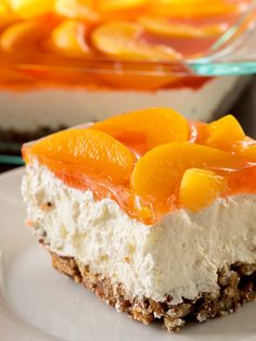 Peach Pretzel Salad  2 hours to prepare serves 8-10  Print  Save Share Pin INGREDIENTS  Crust: 2 cups pretzels, crushed 3/4 cup (1 1/2 stick...