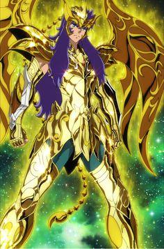 Saint Seiya Soul of Gold - ATP - Visitate il sito per maggiori informazioni. Art Anime, Manga Anime, Geeks, Knights Of The Zodiac, Aquarius And Scorpio, Comics Anime, Best Cartoons Ever, Angel Warrior, Japan Art
