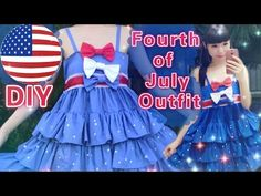 1c92754b94 DIY Fourth of July Outfit Dress(Easy)