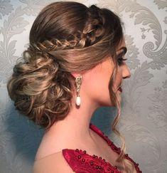 Dance Hairstyles, Bride Hairstyles, Hair Makeup, Hair Color, Hair Beauty, Hair Styles, Womens Fashion, Girls, Cute Hairstyles