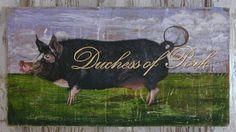 Pig art, fun way to express yourself.  www.gigibegin.com