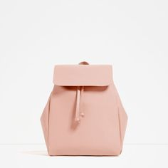 ZARA - COLLECTION AW16 - BACKPACK WITH FOLDOVER FLAP