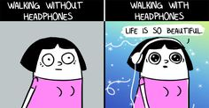 11 Comics For People Who Love Their Headphones Too Much