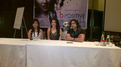 #bPositive #movie press conference #Bollywood #India
