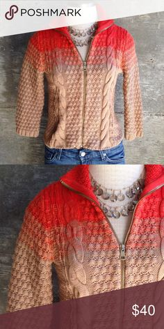 Rachel Roy cropped sweater Perfect fall cardigan sz M but also fits as small. Bundle for discount RACHEL Rachel Roy Sweaters Cardigans