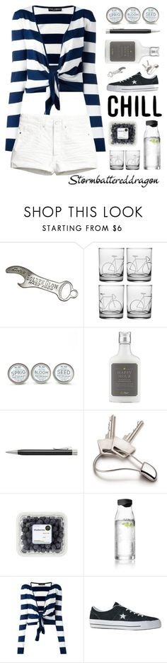 """""""Be Chill"""" by stormbattereddragon ❤ liked on Polyvore featuring Citizen, Faber-Castell, Georg Jensen, Menu, Dolce&Gabbana, Converse and H&M"""