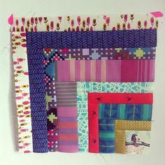 Quilt Now BOM block by reeneatnelliesniceties on Instagram