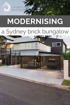 Here's some tips and design advice in how to renovate a Sydney brick bungalow and get bang for buck in creating a great family home. Building A Garage, Building Costs, Building A House, Outdoor Living Areas, Outdoor Rooms, Outdoor Showers, Design Your Home, House Design, Garage Extension