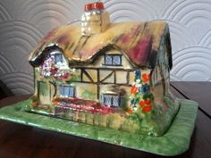 royal winton grimwades cheese butter dish