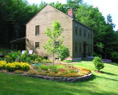 1000 images about landscaping outside ideas on for Colonial landscape design