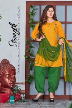 Cotton Salwar Kameez, Salwar Suits, Patiyala Dress, Side Cuts, Lace Border, Daily Wear, Winter Collection, Cotton Dresses, Harem Pants