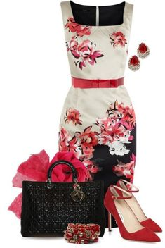 Breathtaking Floral Outfit Ideas for All Seasons 2018 - The Best Floral Outfits Mode Outfits, Fashion Outfits, Womens Fashion, Classy Outfits, Beautiful Outfits, Beautiful Things, Look Fashion, Spring Fashion, Modelos Fashion