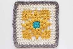 Pattern: #24 Italian Cross from 200 Crochet Blocks for blankets, throws, and afghans by Jan Eaton.