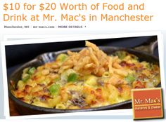Mac and Cheese anyone? Grab this deal from the popular Mr. Macs Restaurant! - http://extremecouponprofessors.net/2013/05/mac-and-cheese-anyone-grab-this-deal-from-the-popular-mr-macs-restaurant/