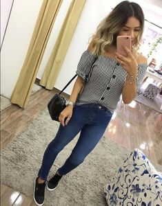Moda Mujer Oficina 2019 21 New Ideas Spring Outfits, Trendy Outfits, Cute Outfits, Fashion Outfits, Womens Fashion, Look Jean, College Outfits, Look Fashion, Casual Looks