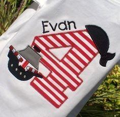 Pirate birthday shirt...
