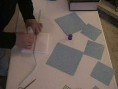 Foldable Scrapbook How-To - YouTube