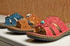 Gingersnap sandals! - New Spring 2014- Now available at our shop in black and salmon!