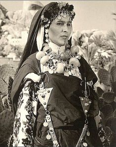 Berber Woman, Morocco. ca 1940s