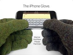 iphone gloves! Need some of these for winter!