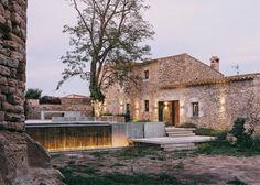 Noble Landscape Design For Peratallada Castle, Spain