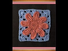 How to Crochet a Granny Square Pattern #9  │by ThePatterfamily