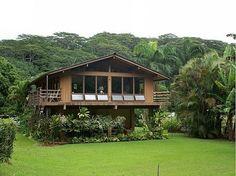 Home on stilts, my dream Hawaiian home.