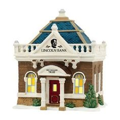 dept 56 new england village the lincoln bank nib free shipping - Categoria: Avisos Clasificados Gratis  Item Condition: NewNEW IN BOXFree ShippingPrice: US 69.95See Details
