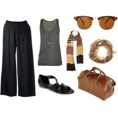 perfect travel outfit....and we all know I love to travel