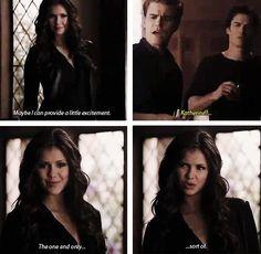 Katherine Pierce - Season 4 - The Vampire Diaries. ♥